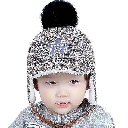 gespout autunno e inverno bambino bambini carino cappello caldo berretto  bambino berretto inverno ragazza ragazzi cappello c0a82fea31b9