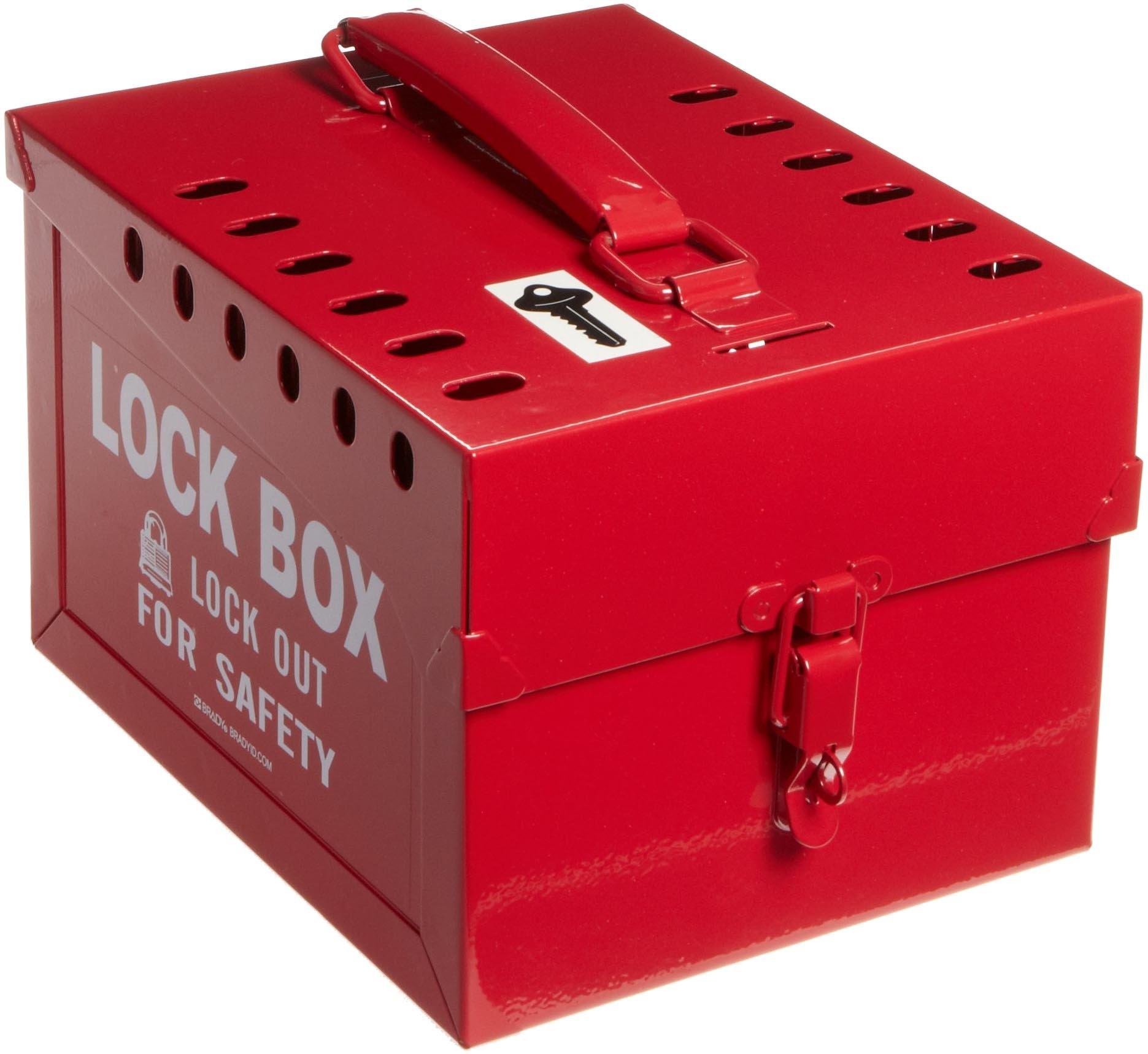 Brady Extra-Large Group Lock Box, Steel