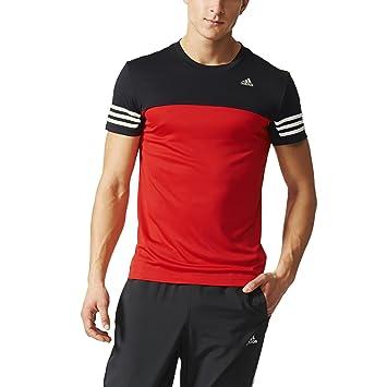adidas Base Mid Tee DD, Camiseta Para Hombre, Rojo / Negro (Rojint/Negro), L: adidas: Amazon.es: Deportes y aire libre