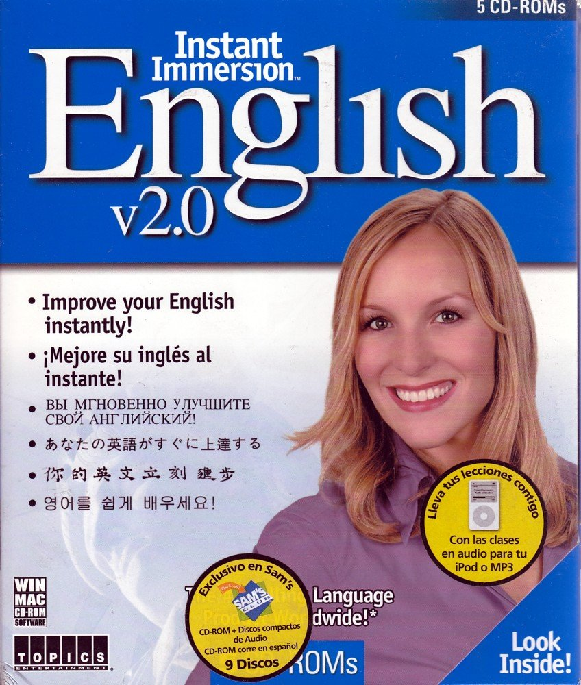Instant immersion french audio cd english and french edition