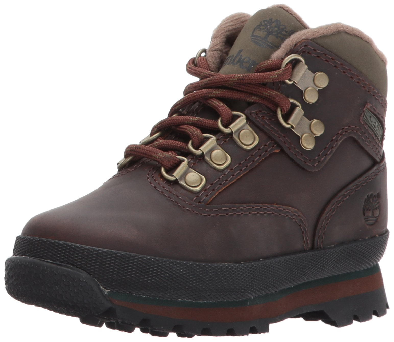 Timberland Euro Hiker Boot (Toddler/Little Kid/Big Kid),Brown,5.5 M US Big Kid