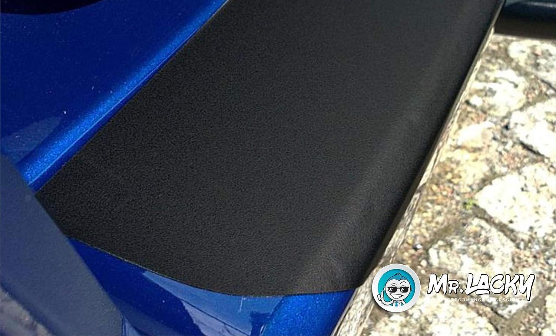 MisterLacky Typ F Lackschutzfolie mit Rakel als Ladekantenschutz Folie passend f/ür Opel Corsa 150/µm ab BJ 11//2019 in schwarz matt VI