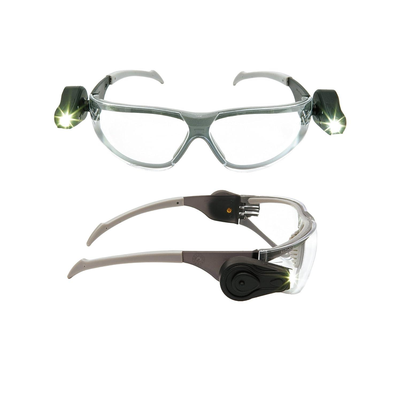 Excelentes gafas de seguridad con luz led incorporada.