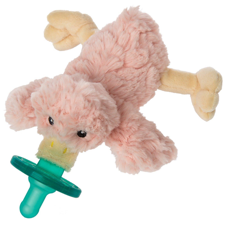 Mary Meyer WubbaNub Infant Pacifier ~ Blush Putty Duck