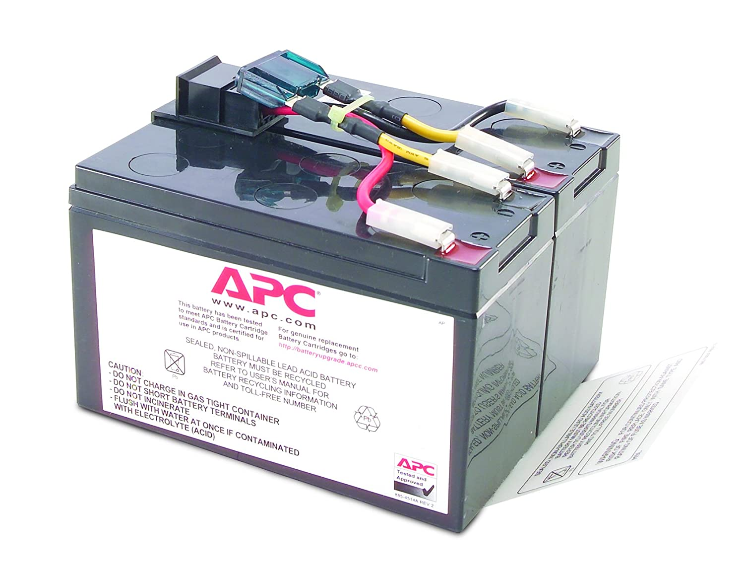 apc rbc7 replacement battery cartridge no 7 amazon ca electronics Back of a Apc 1500 Battery  Kinetik Battery Wiring Diagram CyberPower 1500 AVR Battery Replacement Apc 1500 Battery Replacement