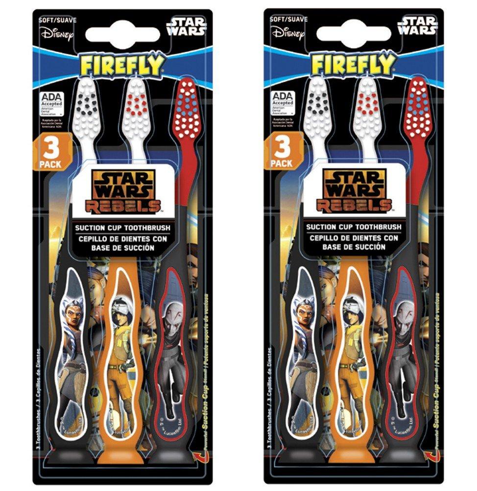 Amazon.com: STAR WARS REBELS Children KIDS child TOOTHBRUSH (Star Wars Rebels - 6 Toothbrushes): Beauty