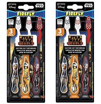 Amazon.com: STAR WARS REBELS Children KIDS child TOOTHBRUSH (Star Wars Rebels - 6 Toothbrushes): Beauty