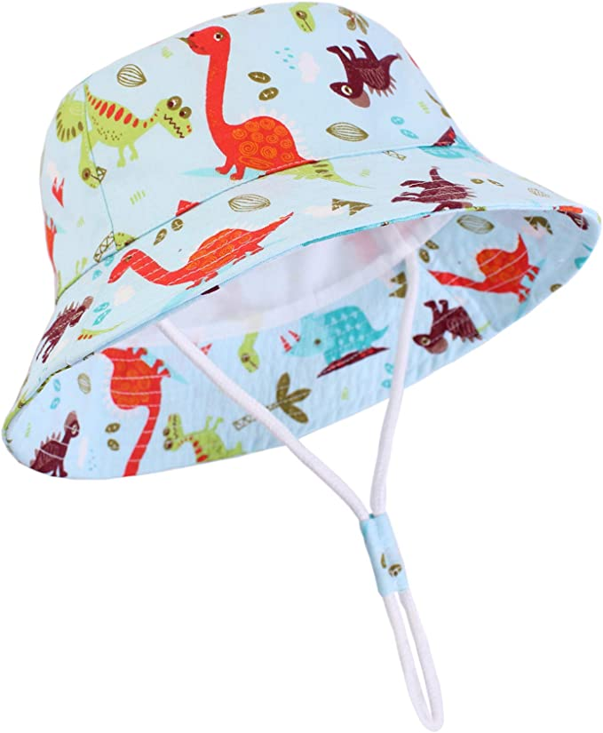 Baby Sun Hat Summer Beach Hat Bucket Cap Newborn Toddler Kids Boy Girl 0-4Y USA