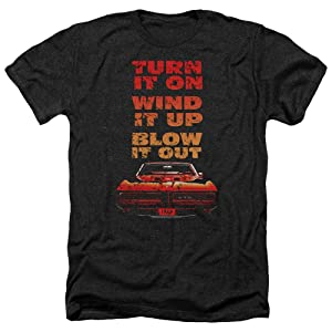 Pontiac Blow It Out Gto Mens Heather Shirt