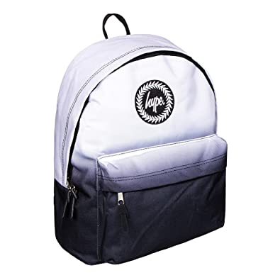 cb6f370ebc HYPE Mono Fade Black White Backpack Rucksack Bag - Ideal School Bags -  Rucksack For Boys and Girls  Amazon.co.uk  Shoes   Bags