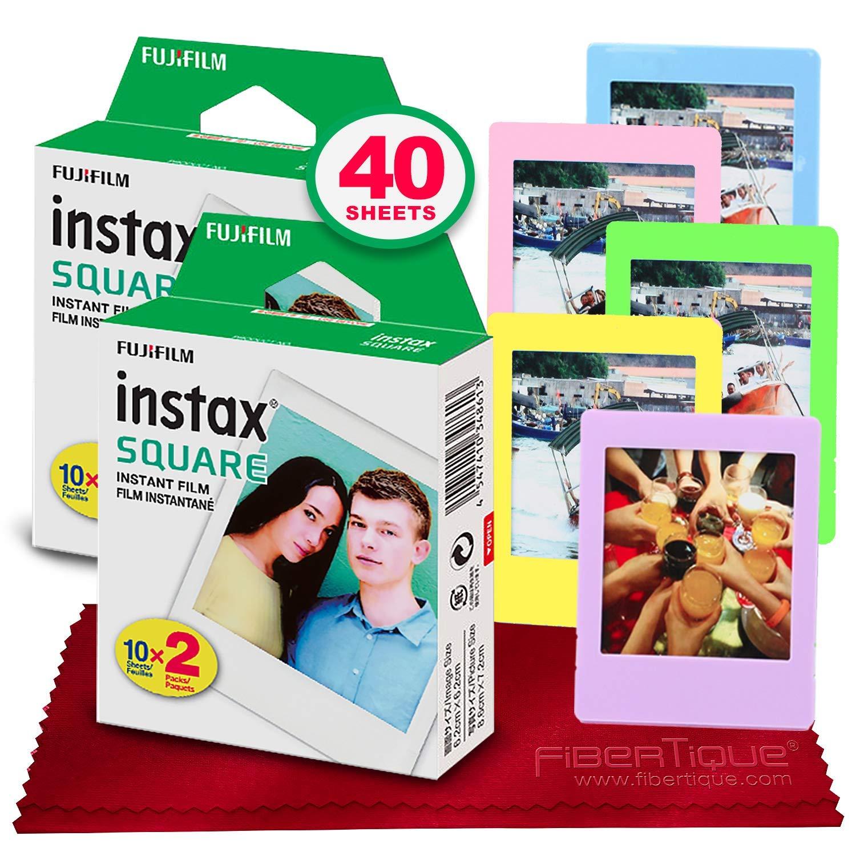 Fujifilm instax Square Instant Film (40 hojas)...