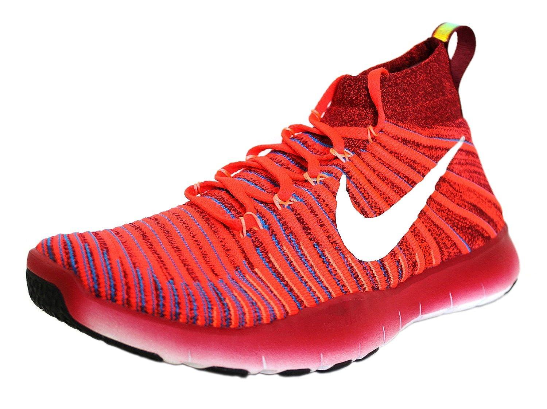 rojo Nike Free Train Force Flyknit, Hauszapatos de Senderismo para Hombre