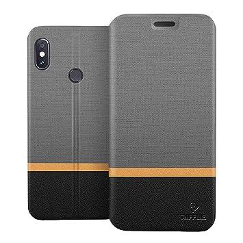 RIFFUE Funda Xiaomi Redmi Note 5, Carcasa Delgada Libro de Cuero con Tapa Cartera de Ranura y Billetera Elegante Case Cover para Xiaomi Redmi Note 5 / ...