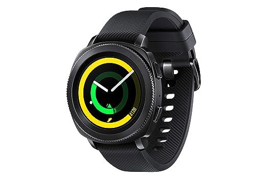 ee28e6879 Samsung Gear Sport Smart Watch - Black, SM-R600NZBAKSA: Amazon.ae
