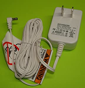 Exvision Industries AC Adapter Power Supply 7.5V 500mA Model: ADN050750500