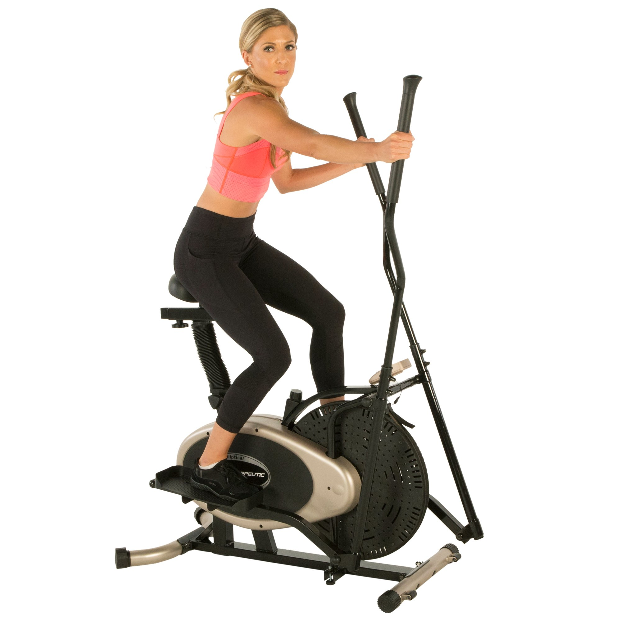 Exerpeutic Gold Elliptical and Exercise Bike Dual Trainer by Exerpeutic (Image #12)