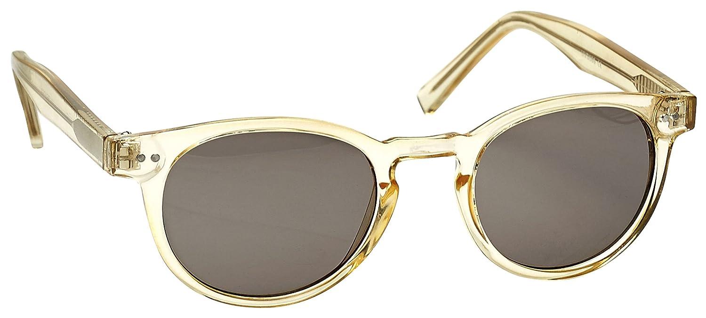 Opulize Rox Súper Elegante Oro Transparentee Mujeres Lectores De Sol Gafas De Lectura UV400 Bisagras De Metal Redondo S89-9 +2,50