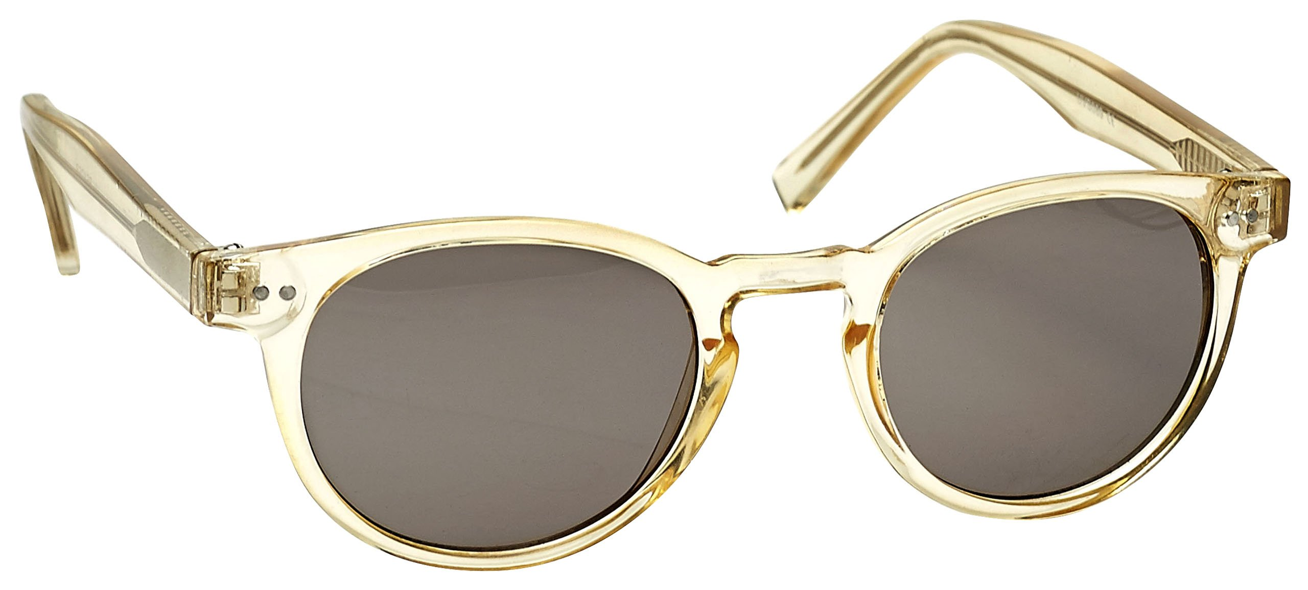 The Reading Glasses Company Transparent Gold Sun Readers UV400 Designer Style Womens Ladies S89-9 +2.50