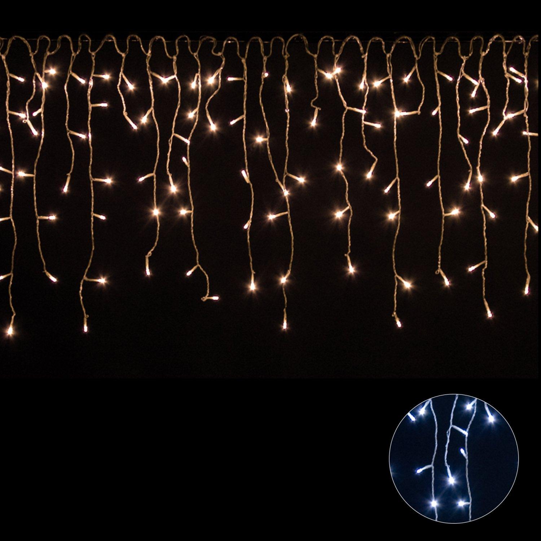 71Aet2OK7LL._SL1500_ Schöne Led Eiszapfen Lichterkette Mit Schneefall Effekt Dekorationen