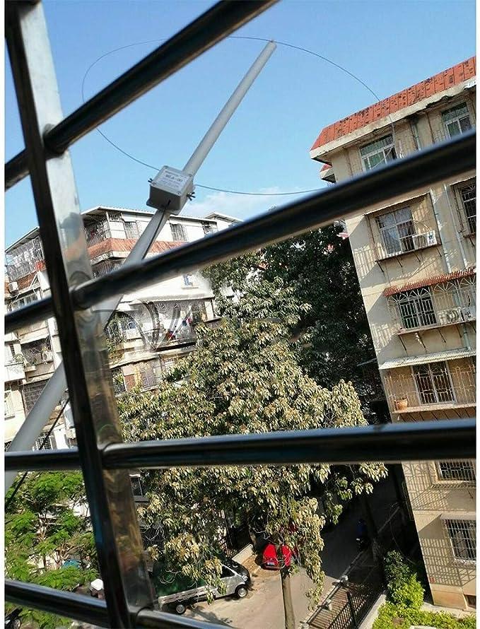 TXYFYP MLA-30 Largo Rango Direccional Bucle Antena Largo Línea Antena, Activo Mediana Wave Corto Wave Antena Radio Interior SMA Sw Antena - Negro, ...