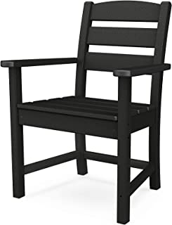 product image for POLYWOOD Lakeside Dining Chair, Black