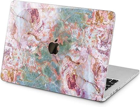 Green Marbled MacBook Air 11 13 2018 Full Printed Cover Stone MacBook Pro 13 15