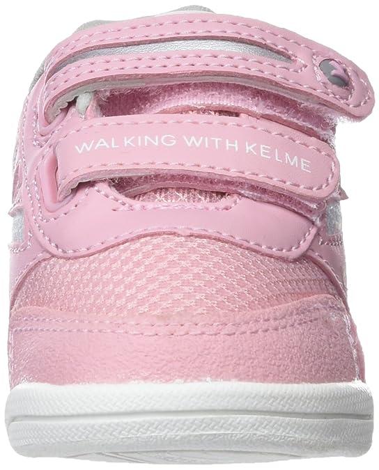Kelme Tech Mesh, Zapatillas para Niñas, Rosa (Rosa 155), 27 EU