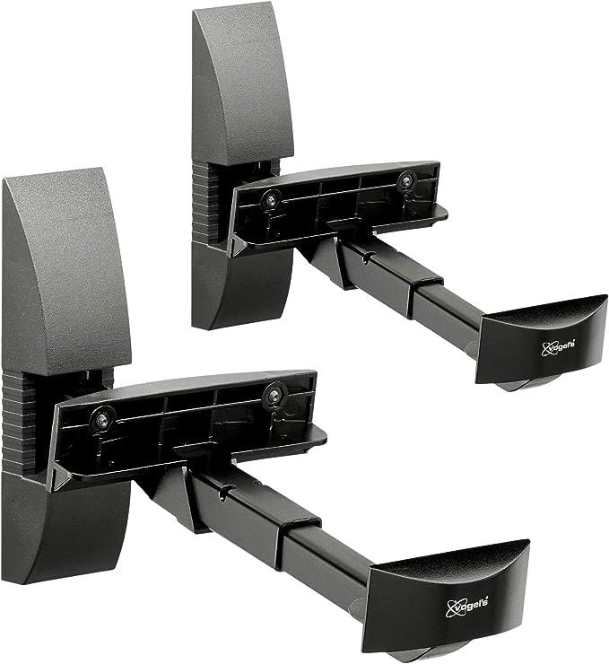 Vogels VLB 200, Soporte de pared para altavoces (2x), Negro, Máx ...