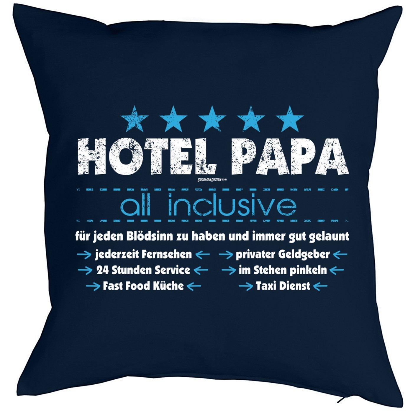 Papa Geschenk Polsterbezug ohne Füllung Kissenbezug Hotel Papa all ...