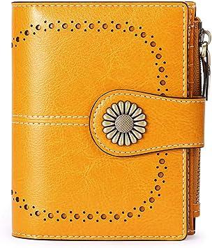 Donna Pochette in vera pelle vera donna multi fessure schede wallet nuovo Regno Unito