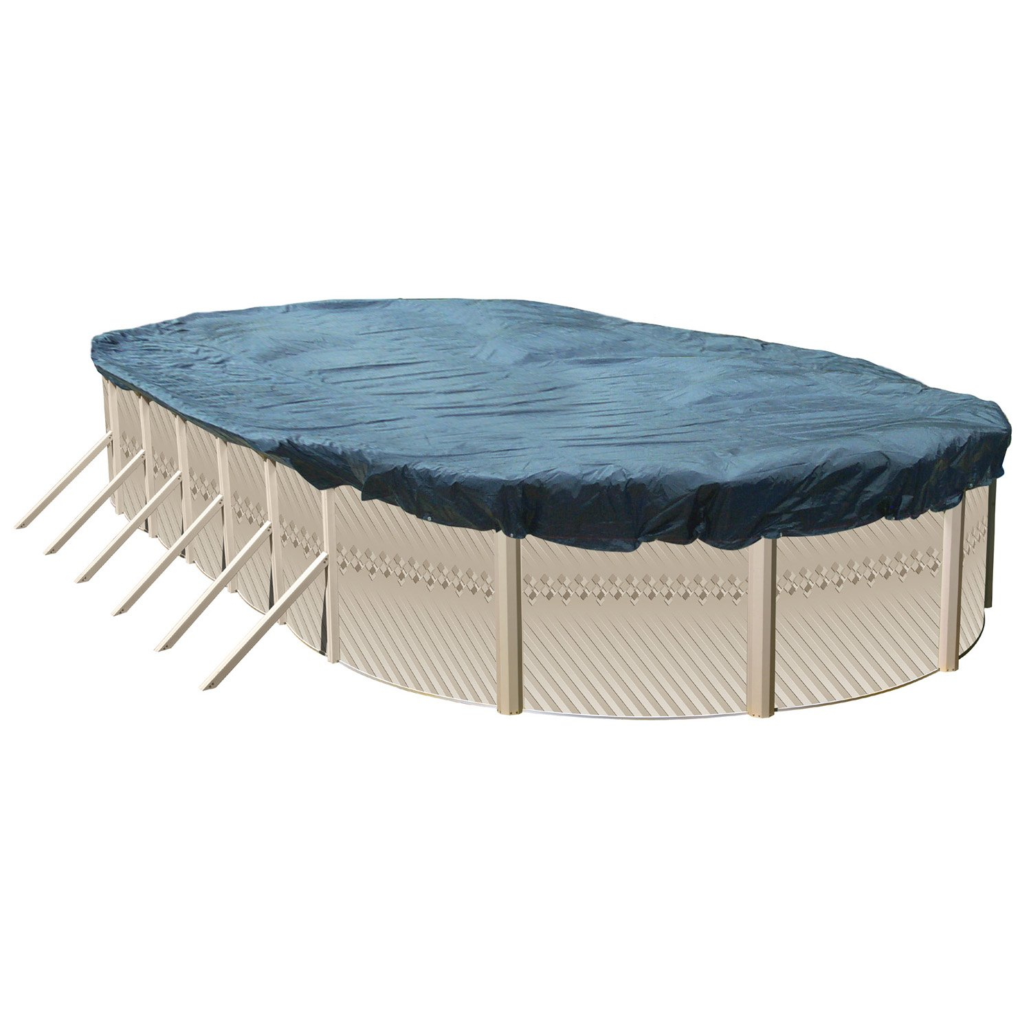 Splash Pools CV 2415 Deluxe Winter Cover for Oval Pools, 24' x 15'