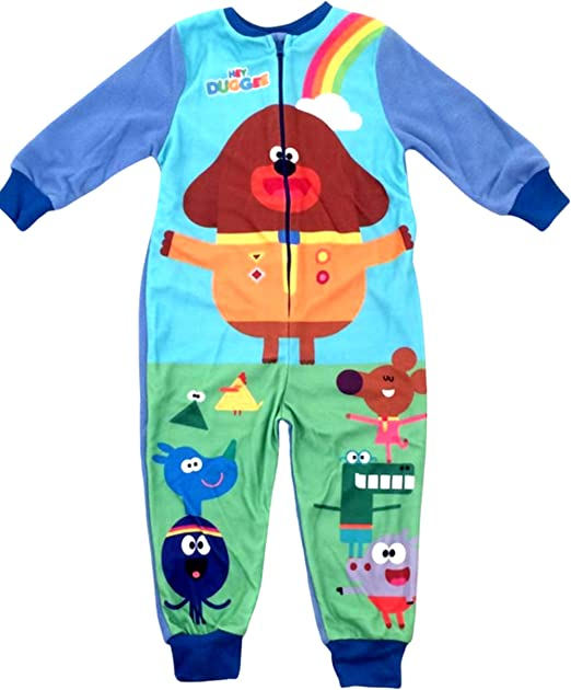 Boys Hey Duggee All in One Onezee Children Hey Duggee Sleepsuit Age 18 Months 5 Years