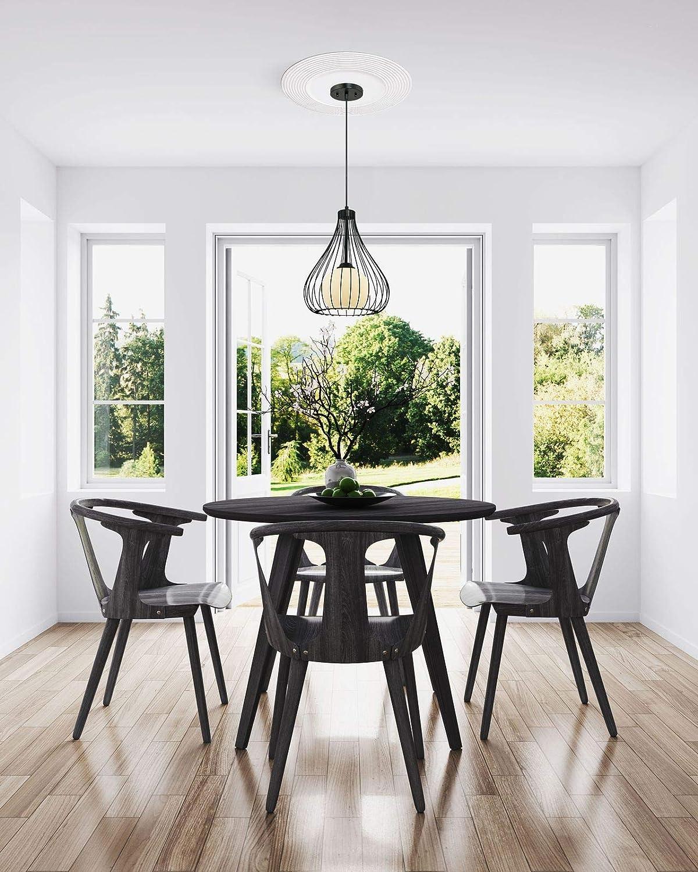 Westinghouse Lighting 7771340 77713 40,6 cm M/édaillon de plafond /à finition en blanc