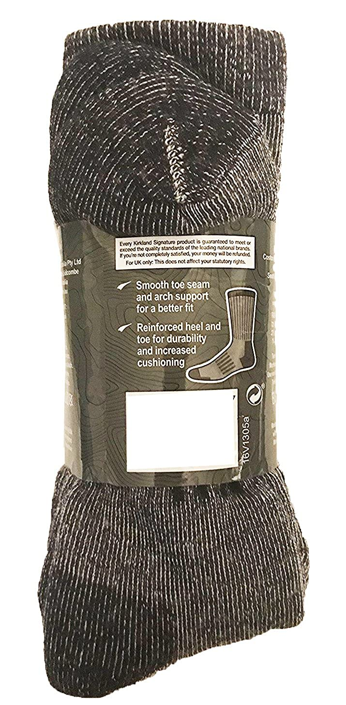 Kirkland Signature Mens Outdoor Trail Socks Merino Wool 4 Pairs