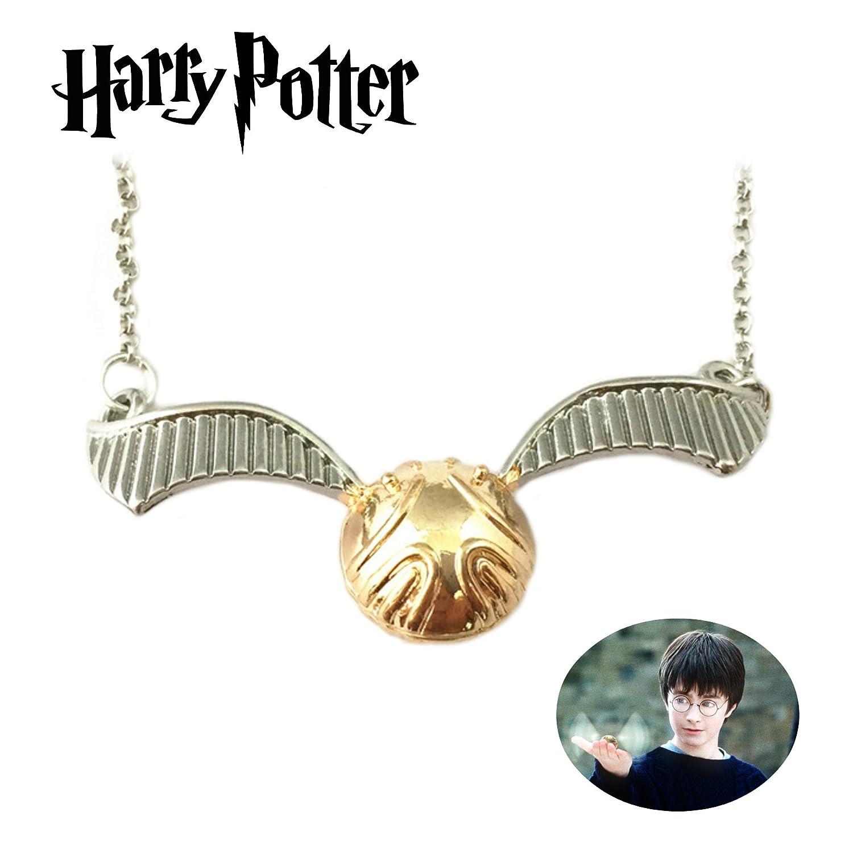 Harry Potter Collar colgante Golden Snitch película tema ...