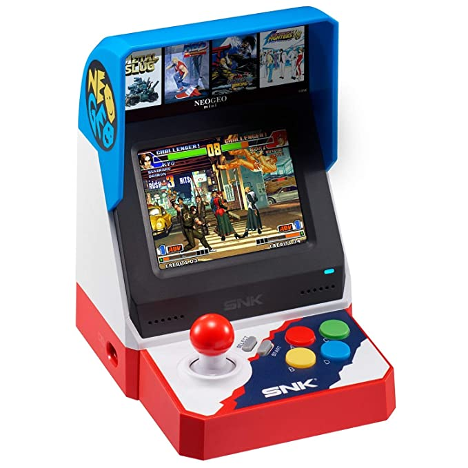 Snk Neo Geo Mini 40Th Anniversary Japanese Version: Amazon ...
