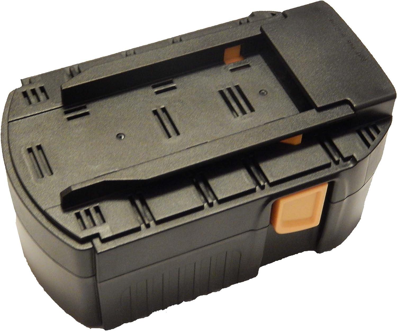 vhbw NiMH batería 3000mAh (24V) para herramienta eléctrica powertools tools Hilti SFL 24, TE 2-A, UH 240-A, WSC 55-A24, WSC 6.5, WSR 650-A
