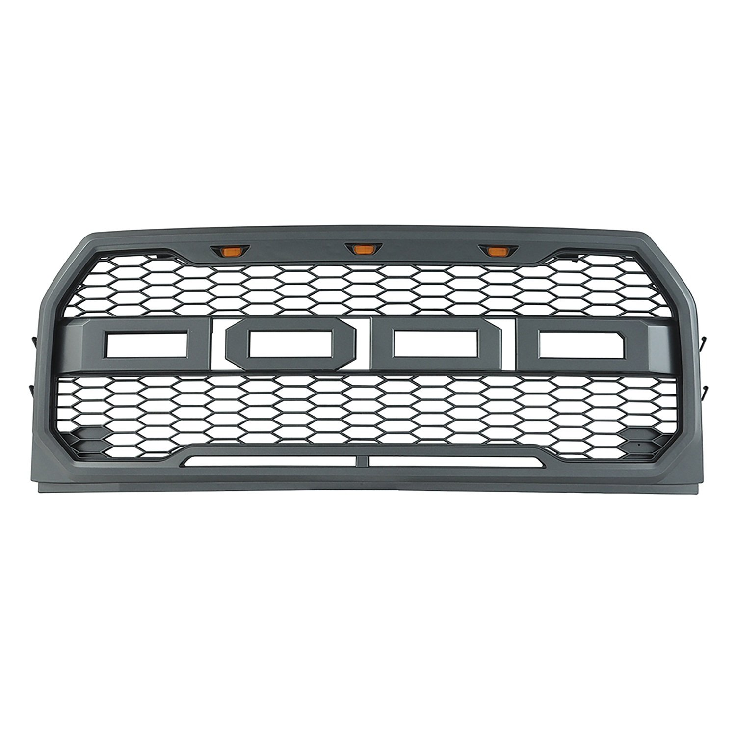 Paramount Restyling 41 0157 Raptor Style Packaged Grille Wire Harness Black Molding 15 16 Ford F 150 Automotive