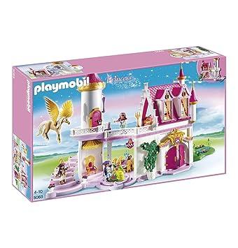 Playmobil Château De Princesse Avec Pegasus 5063: Amazon.co.uk: Toys U0026 Games