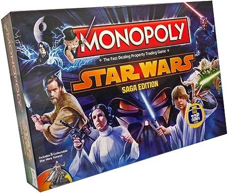 Star Wars Monopoly - Limited Edition: Amazon.es: Electrónica