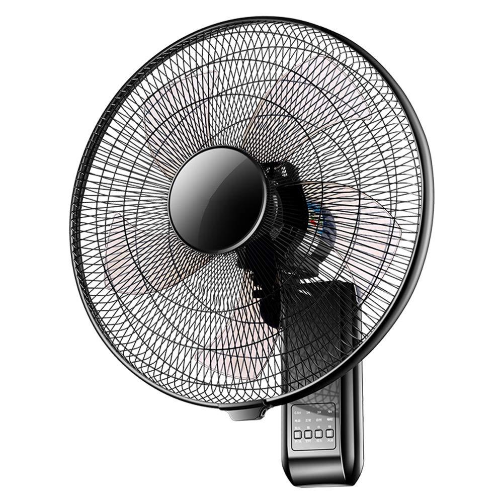人気が高い 李愛 李愛 扇風機 壁掛け18インチスイングブラックファン7.5H静音動作 扇風機 - 60W 60W B07PT7XC26, ナカジマスポーツ:cd7a89b3 --- diesel-motor.pl