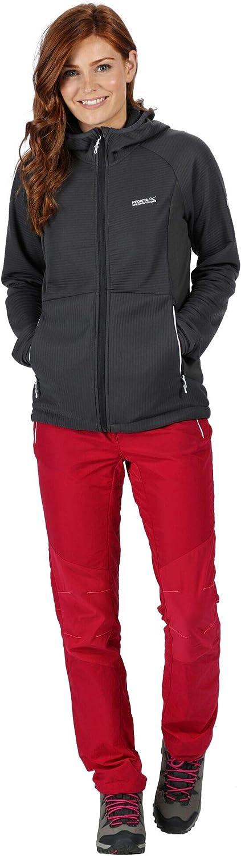 Regatta Terota Fleecejacke Damen neon pink 2020 Funktionsjacke Seal Grey