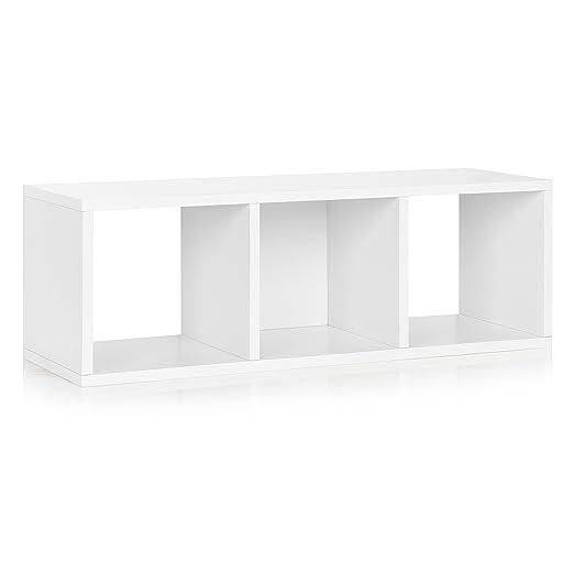 Amazon.com: Way Basics Eco 3 Cubby Banco de almacenamiento ...