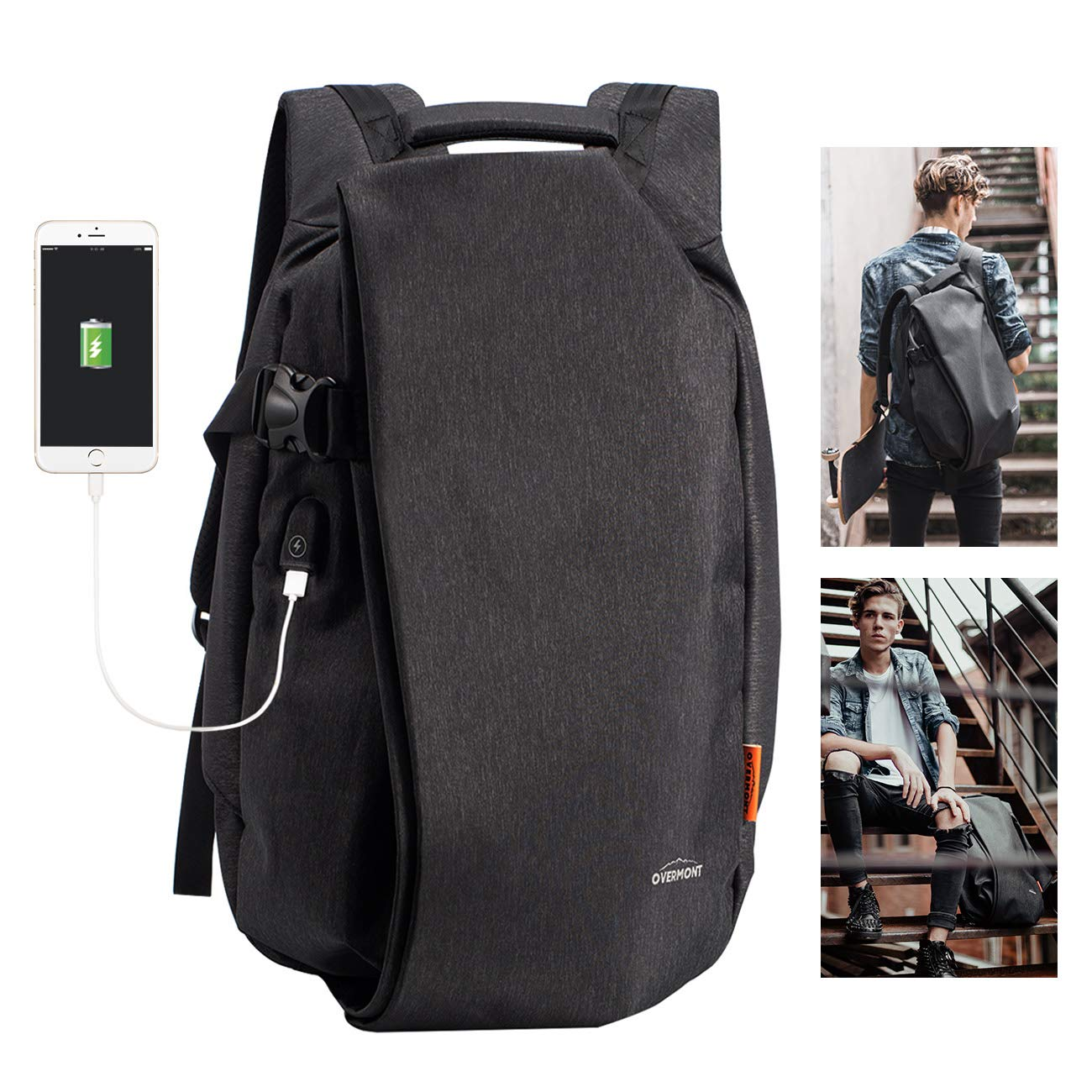 Overmont Tactical Backpack For Travel