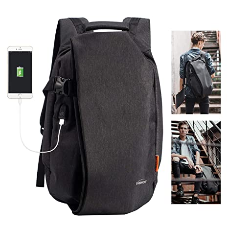 Overmont Fashion Laptop Backpack for School Travel Computer Bag Anti-Theft  Leisure Daypack Bussiness Backpack 75b9548b79c