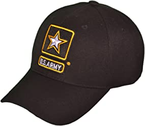 US Army Logo Military Baseball Hats (Black) - 4093 0ee900910bd