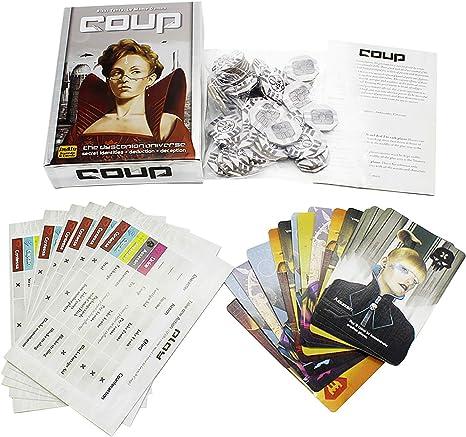 Levuyou The Resistance Family Party Coup Games Juegos de Cartas Sushi Go for Kids Juegos Divertidos: Amazon.es: Ropa y accesorios