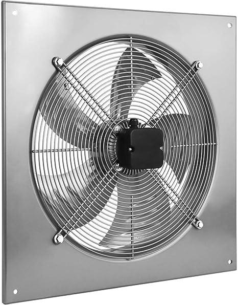 PrimeMatik - Extractor de Aire de Pared de 600 mm para ventilación ...