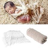 2Pcs Baby Newborn Photo Props Wraps & Photography