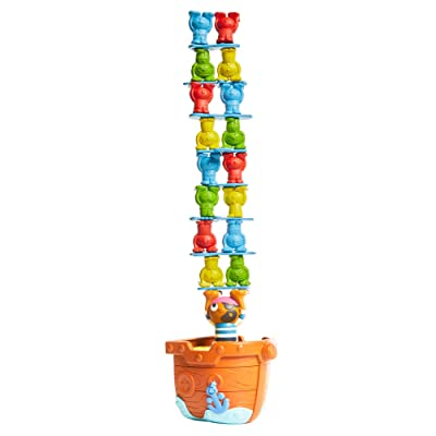 TOMY Pirates Pile Up Game: Toys & Games